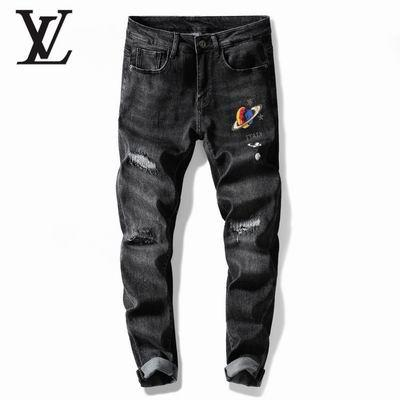 jeans denim men jeans slim fit     jeans men pants 16