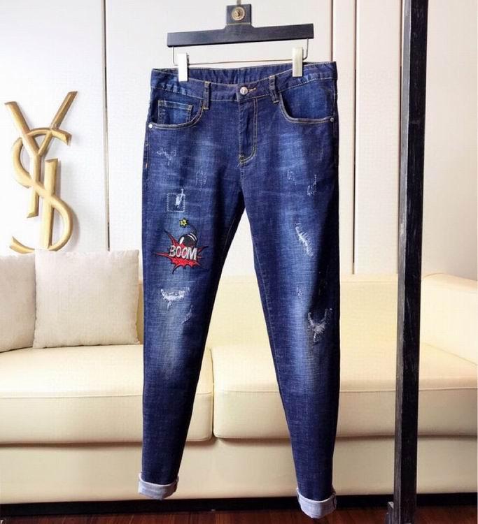 jeans denim men jeans slim fit     jeans men pants 19