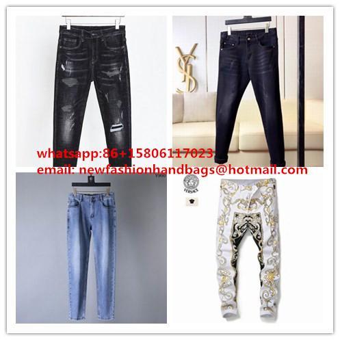 top sale jeans versace jeans men pants versace slim jeans