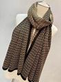 Fendi Cashmere Scarf fendi hat scarf set knit wool scarf
