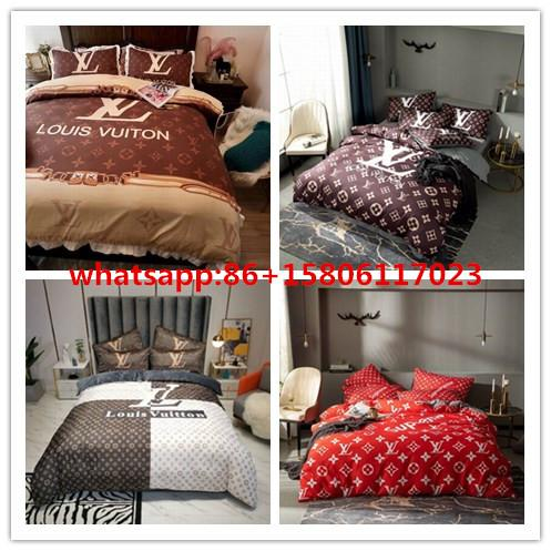 LV Bedding Luxury Brand Suit Bedclothes Gucci bedclothes