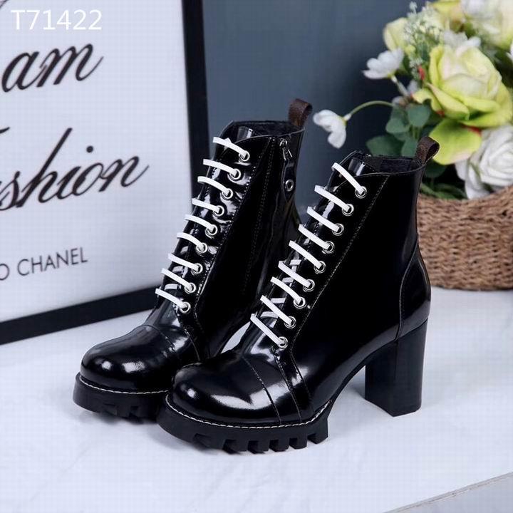 louis vuitton boots LV short boots leather women boot