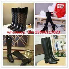 polar flat knee high boots landscape boots     boots heeled boots  monogram shoe