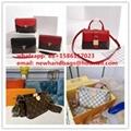 cross body bag               bag  Monogram canvas handbags Calfskin leather (Hot Product - 40*)
