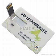 Factory Offer-Genuine 8GB Credit Card USB flash drive USB pendrive U disk