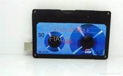 USB Cassette Genuine 4GB USB flash drive USB pendrive U disk