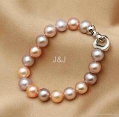 恒爱珠宝 J&J 天然淡水珠手链
