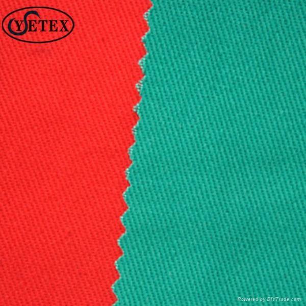 fire retardant anti static cotton polyester cvc fabric  1