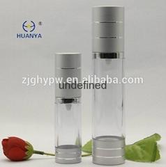 Hot sale Aluminium airless cosmetic bottle