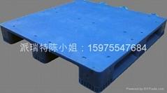 廣州塑料托盤1100*1100*150平板川字