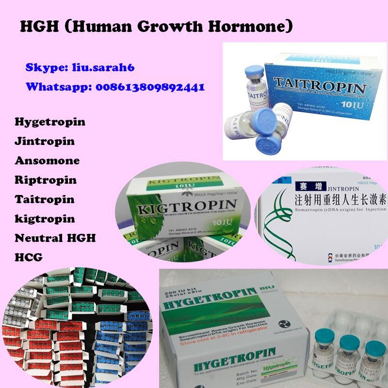 HGH (Human Growth Hormone) High Purity Good Blood Result Kigtropin/Jintropin/Hyg 1