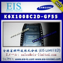 K6X1008C2D-GF55 - SAMSUNG - 128Kx8 bit Low Power CMOS Static RAM