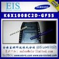 K6X1008C2D-GF55 - SAMSUNG - 128Kx8 bit Low Power CMOS Static RAM 5