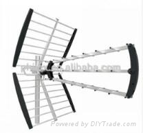Outdoor Digital TV Antenna for HDTV and UHF Reception  1