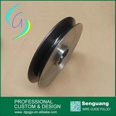 Spary ceramic Optical fiber Pulley