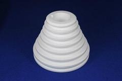 White  zirconia ceramic cones pulley