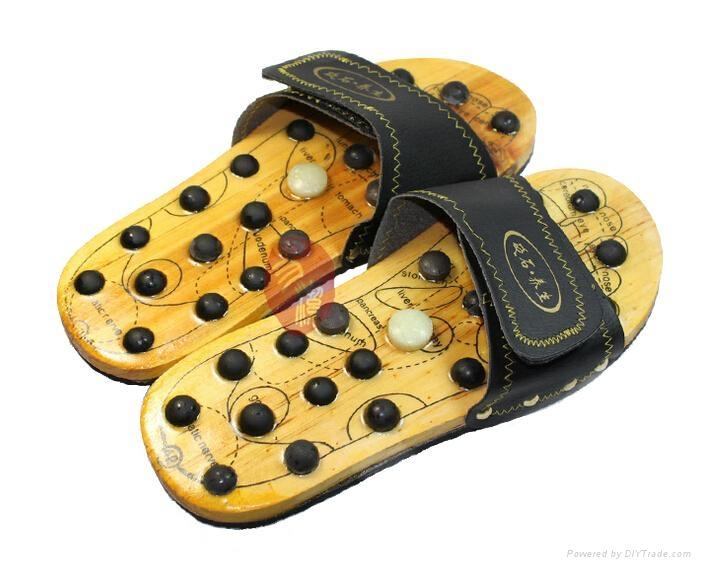 Bian Stone foot massaging shoes 1