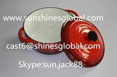 搪瓷铸铁汤锅