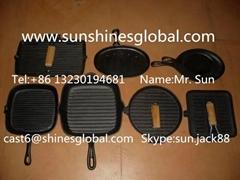 鑄鐵煎盤/烤盤/鐵鍋