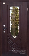 MDF doors with glass