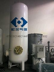 热水循环水浴式气化器