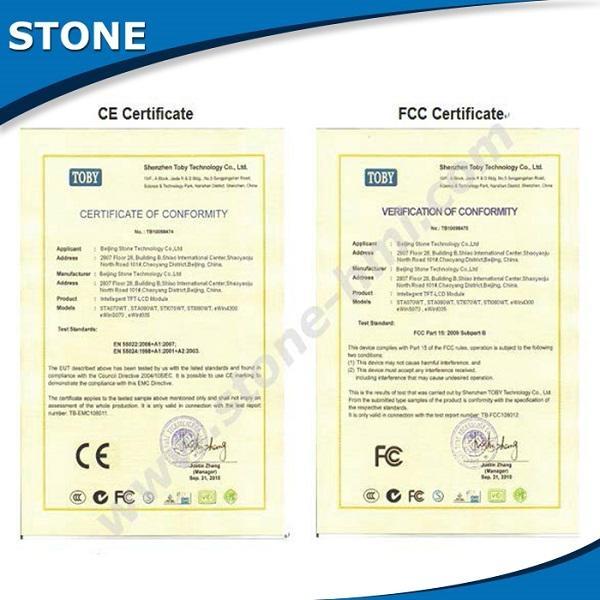 stone cheap hmi touch screen tft panel controller 4