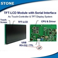 stone tft lcd r   ed panel monitor with colourful touch screen 1