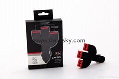 4A 3口USB車載充電器