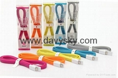 Charging Data Sync Cable, USB To Apple