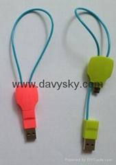 KAY SHA Key Shape Charging Data Sync Cable, USB To Micro