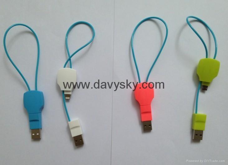 KAYSHA 苹果时尚创意手机充电数据线 2