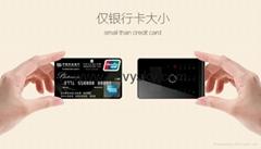 超薄全金属智能触控卡片手机 8G内存版