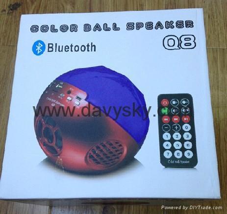 Colorful Ball Bluetooth with Radio 2