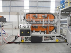 ASA+PVC composite glazed tiles making machine