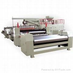 plastic lamination machine