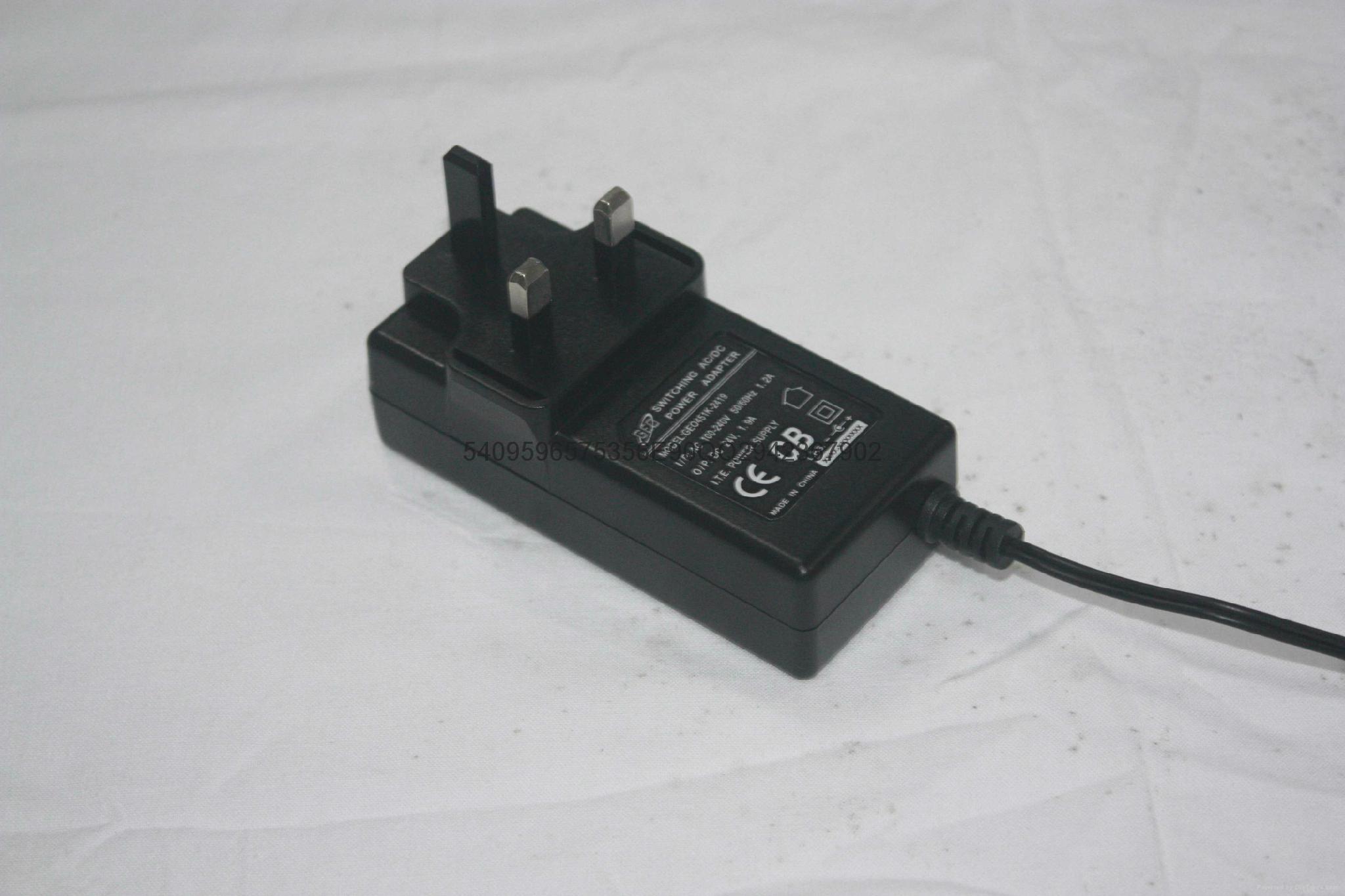 24W恆壓電源適配器  2