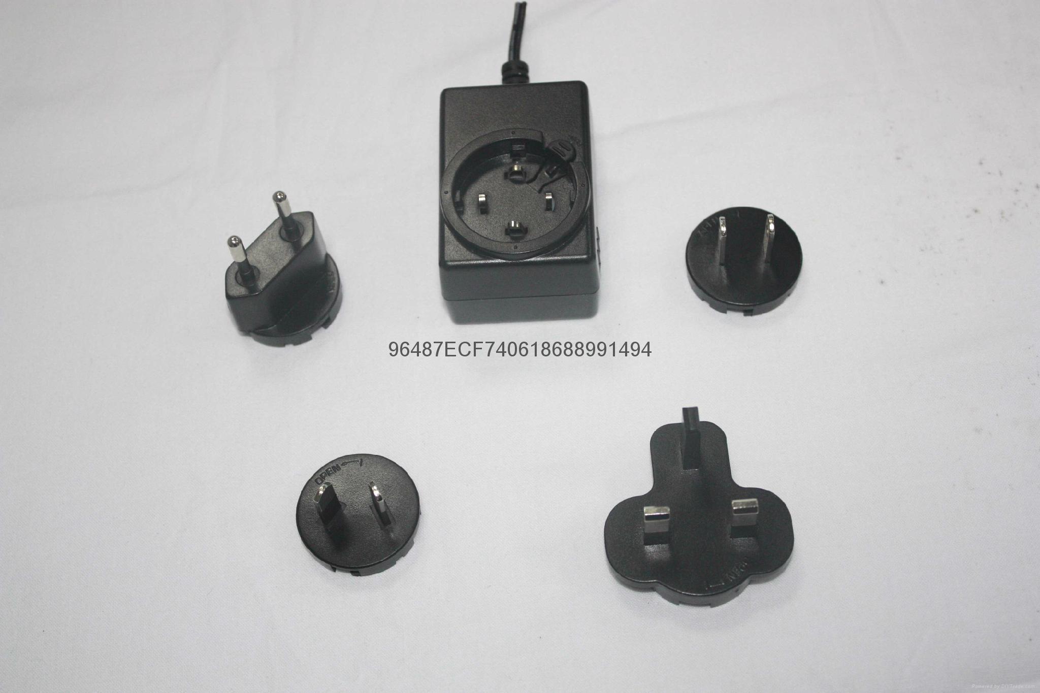 18W插牆式電源適配器  4