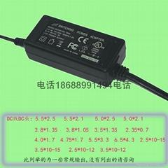 36W电源适配器过电压电流保护