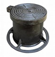 SMC manhole cover EN124 DN600 D400