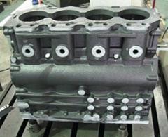 low price diesel engine block and brick making machine