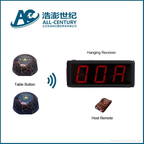 Fast Food Restaurant Table Order System Display Receiver And Call - Restaurant table ordering system