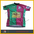 100% Polyester Custom Cycling Shirt