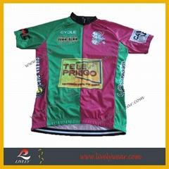 100% Polyester Custom Cycling Shirt Cheap Cycling Jersey