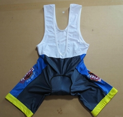 2015 New Design Custom Spandex Cycling Bib Short
