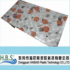 3d embossing printed table cloth