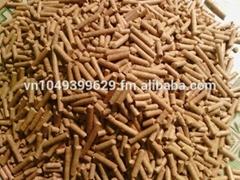 Wood Pellet D:8mmfrom Vietnam