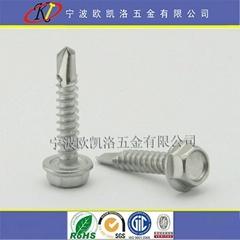 410不鏽鋼六角華司鑽尾螺絲