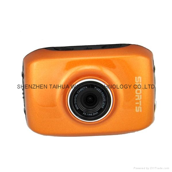 Helmet Sports DV F5 Waterproof Action sport camera with 2.0'' HD display 6