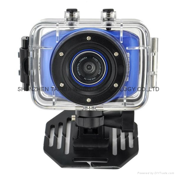 Helmet Sports DV F5 Waterproof Action sport camera with 2.0'' HD display 2