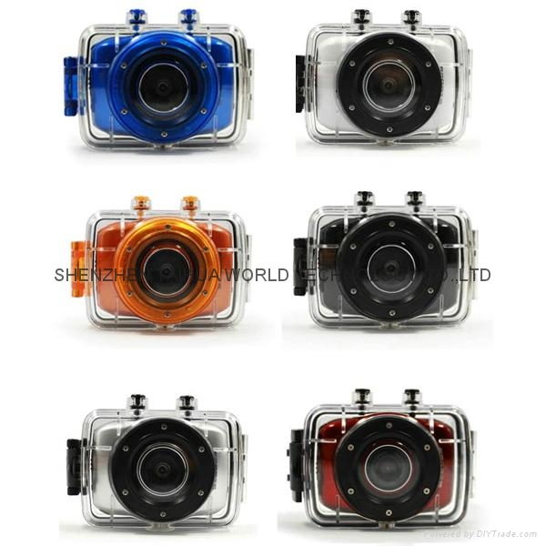 Helmet Sports DV F5 Waterproof Action sport camera with 2.0'' HD display 9